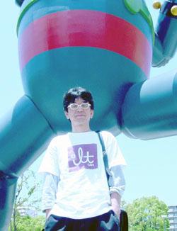鉄人28号とタニシ君.jpg